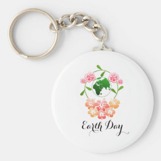 """Earth Day"" Pretty Key Ring. Key Ring"