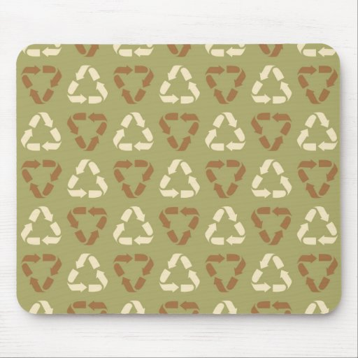 Earth Day Recycle Earth Tone Ipod, Ipad Case, Gift Mousepads