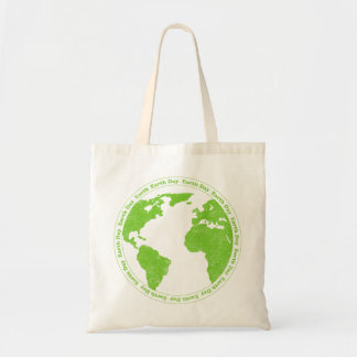 Earth Day Rubber Stamp Bag