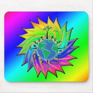 Earth Day ~ Sunburst Mouse Pad
