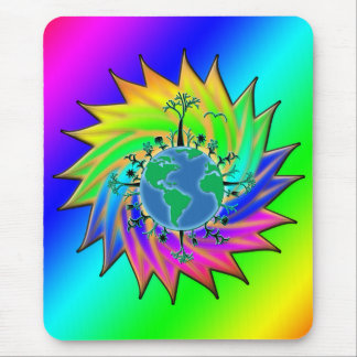 Earth Day ~ Sunburst Mouse Pad