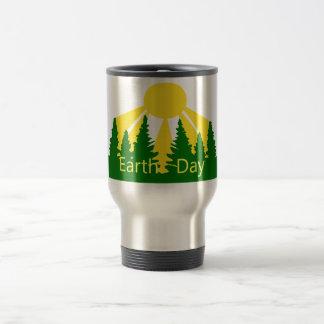 Earth Day Sunrise Travel Mug