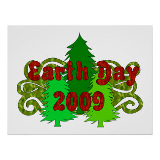 Earth Day Trees 2009 Print