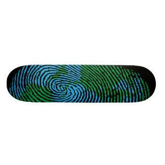 Earth Fingerprint Skateboard