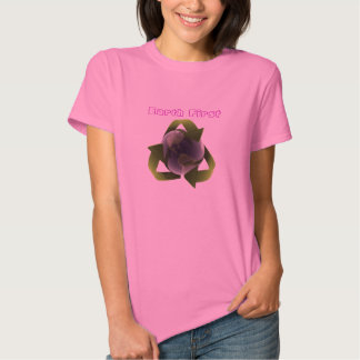Earth First ~ Gorgeous Earth  Reuse Reduce Recycle T Shirts