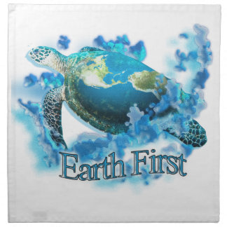 Earth First Napkin