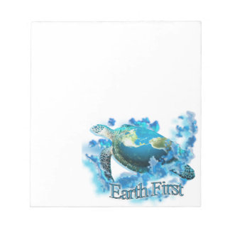 Earth First Notepad