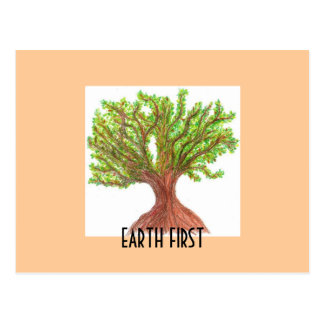 Earth First Postcard