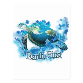 Earth First Postcard