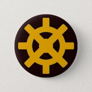 Earth Flight 6 Cm Round Badge