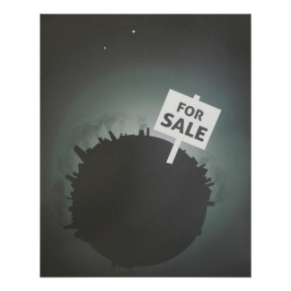 Earth For Sale Poster