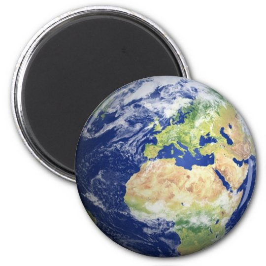 Earth Fridge Magnet #2 -  Europe/Africa