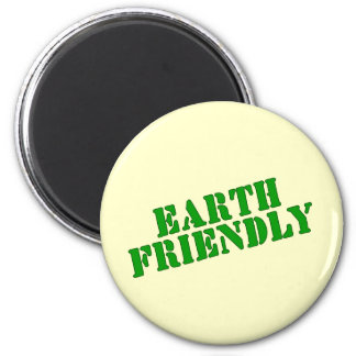 EARTH FRIENDLY Earth Day Tees and Totes 6 Cm Round Magnet