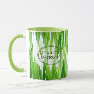 Earth Friendly Green Leaf Canopy Design Mug