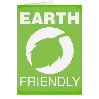 Earth Friendly Greeting Card