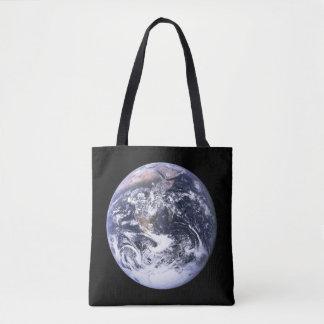 Earth from Apollo 17 Tote Bag