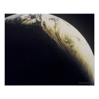 Earth from Outer Space 3 Print