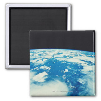 Earth from Space 12 Square Magnet