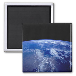 Earth from Space 13 Square Magnet