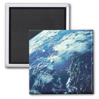 Earth from Space 16 Square Magnet