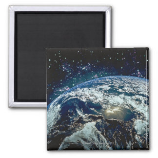 Earth from Space 20 Fridge Magnet