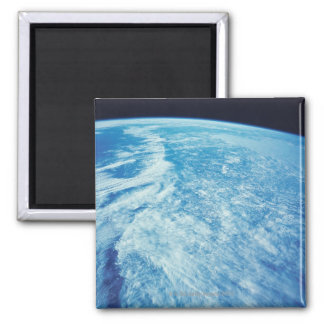 Earth from Space 23 Square Magnet