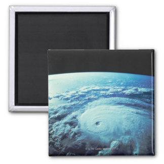 Earth from Space 2 Square Magnet
