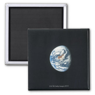 Earth from Space 30 Square Magnet