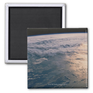 Earth from Space 32 Square Magnet