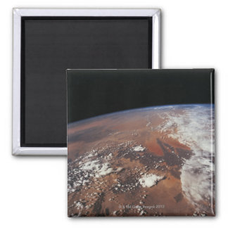Earth from Space 4 Refrigerator Magnets