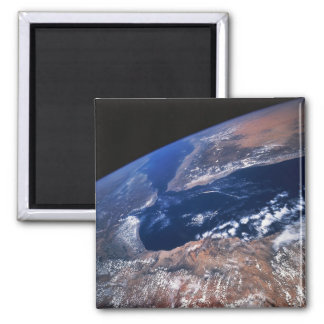 Earth from Space 7 Square Magnet