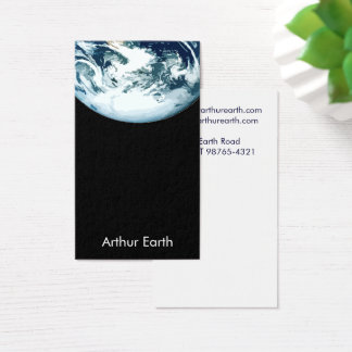 Earth from Space Card
