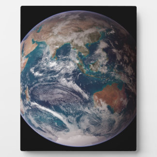 Earth From Space Plaque