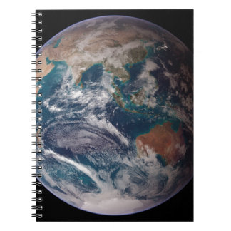 Earth From Space Spiral Notebook
