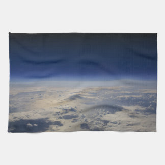 Earth from Space Tea Towel