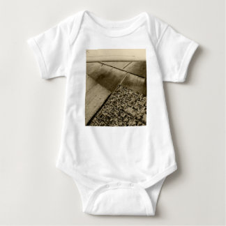 Earth from the air baby bodysuit