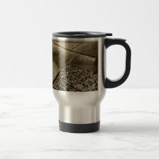 Earth from the air travel mug