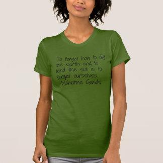 Earth - Gandhi Tee Shirt