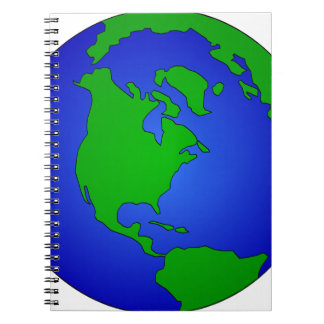 Earth Globe Notebook