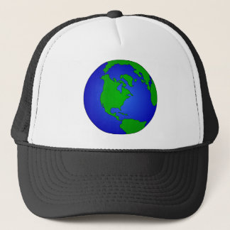 Earth Globe Trucker Hat