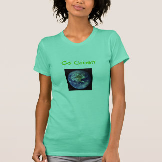 earth, Go Green T-Shirt