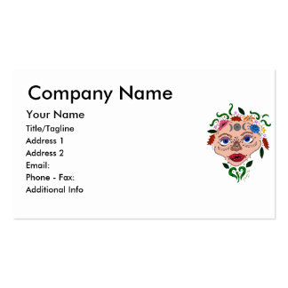 Earth Goddess Double-Sided Standard Business Cards (Pack Of 100)