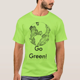 Earth, GoGreen! T-Shirt