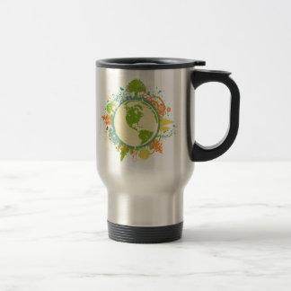 Earth Graphic Travel Mug
