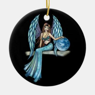 Earth Guardian Angel Ornament by Molly Harrison