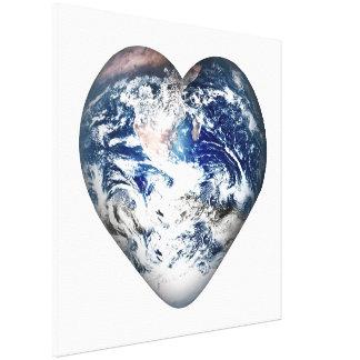 Earth Heart Gallery Wrap Canvas