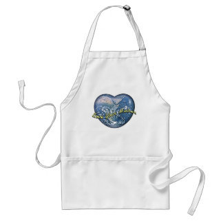 Earth Heart: Love Your Mother Standard Apron