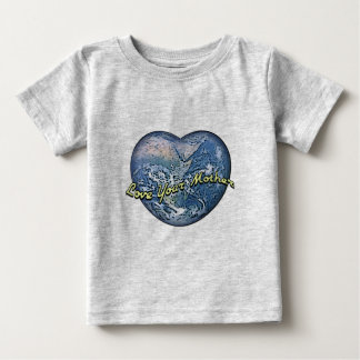 Earth Heart: Love Your Mother T Shirts