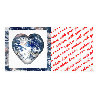 Earth Heat w Earth Trim Photo Card