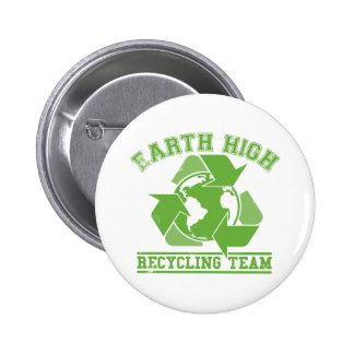 Earth High Recycling Button